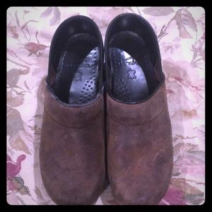 Brown Dansko Clogs